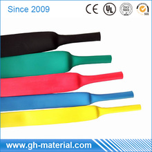 Large Diameter Flexible Heat Resistant Silicone Rubber Heat Shrink Tubing