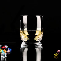 round crystal drinking glass /whiskey glass/shot glass