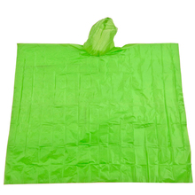 high visibility rain coat promtional disposable printing PE raincoats adult emergency rain poncho with logo cheap price
