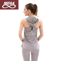 3 pcs Yoga Tank Tops+Leggings+Sports Bra with Hat Jogging Suit Fitness Set