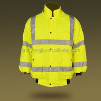 Hot Sale High Visibility Reflective Polyester Motorcycle Raincoats