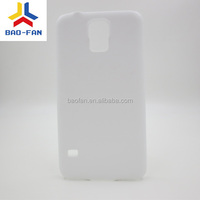 3D blank sublimation cell phone case for samsung galaxy S5