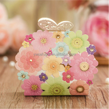 Wedding Party Gift Wedding Party Favor Bridal Gift Wedding Favor Candy Box Novelty Design With Hollow Butterfly