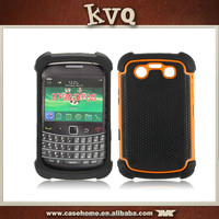 Shockproof Hybrid TPU + PC Armor Mobile Phone Case For Blackberry 9700