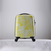 scratch-proof press-resistance pc abs cabin trolley luggage