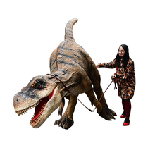 Chaude Professionnel Vie Taille Adulte Dinosaure T-rex Costumes