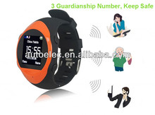 GPS/ GPRS Personal Watch Tracker For Old People, Family speedy dialing