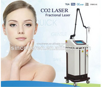 co2 Fractional Laser beauty Machine RF tube for Remove Surgical Scars , Actinic Keratoses , Acne Scars