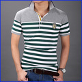 2016 top sale t-shirt transfers sports wholesale striped t-shirt for men
