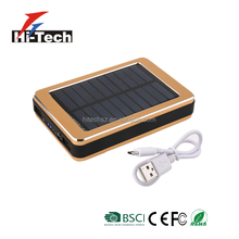 New Products Customize Portable Charger Mobile Solar Power Bank
