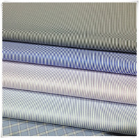 Ready goods,fabric of black and white striped shirts for men