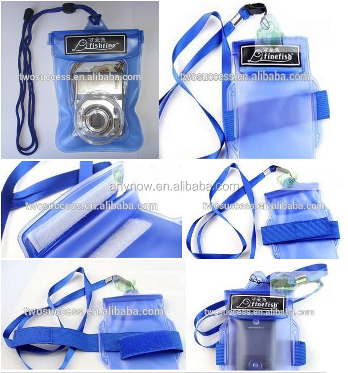 Waterproof bag for phone and camera Swimming and diving equipment