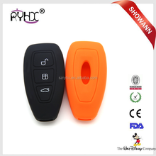 High quality car key cover silicone, silicon rubber key protector, silicone rubber key cover for Ford Mondeo