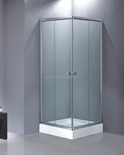 2016 new design simple square shower enclosure