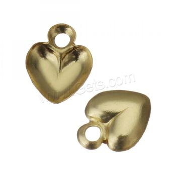 1346833 with large hole Gold Filled pendants Heart shape in stock