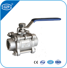 Stainless steel rising stem flanged ball valve with handlewheel