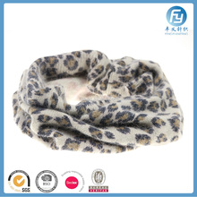 2017 fashion customized wool knitted snood women infinity scarf