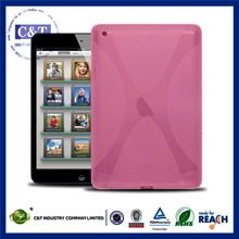 C&T Exquisite soft tpu gel cover for ipad mini 2 tablet case