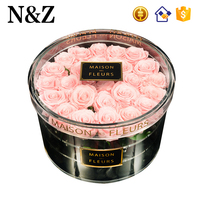 NZ Factory Custom Round Flower Box