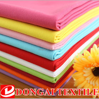 100% cotton textile Organic Canvas Dyed Woven 100% Cotton Fabric