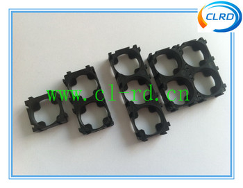 Free shipping 200pcs 1P 18650 battery pack assemble bracket 1P 18650 battery holder