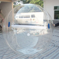 HI fast delivery PVC/TPU clear water walking ball inflatable floating water pool balls for sale