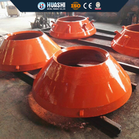 mining equipment high manganese steel casting mantle & concave