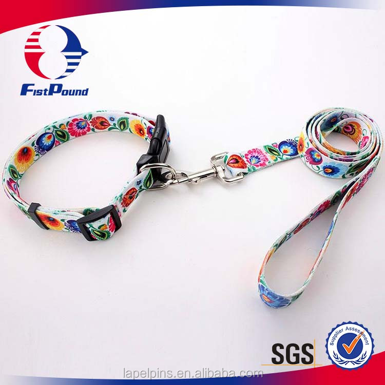 Sublimation Pet Collars & Leashes with excellent quality