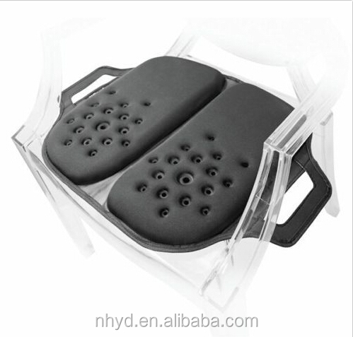 Professional folding gel feel cool comfort Relieve Back Pain orthopdic chair cushion gel car seat cushion