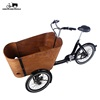 cheap front loading cargo tricycle trike bike for factory direct sale