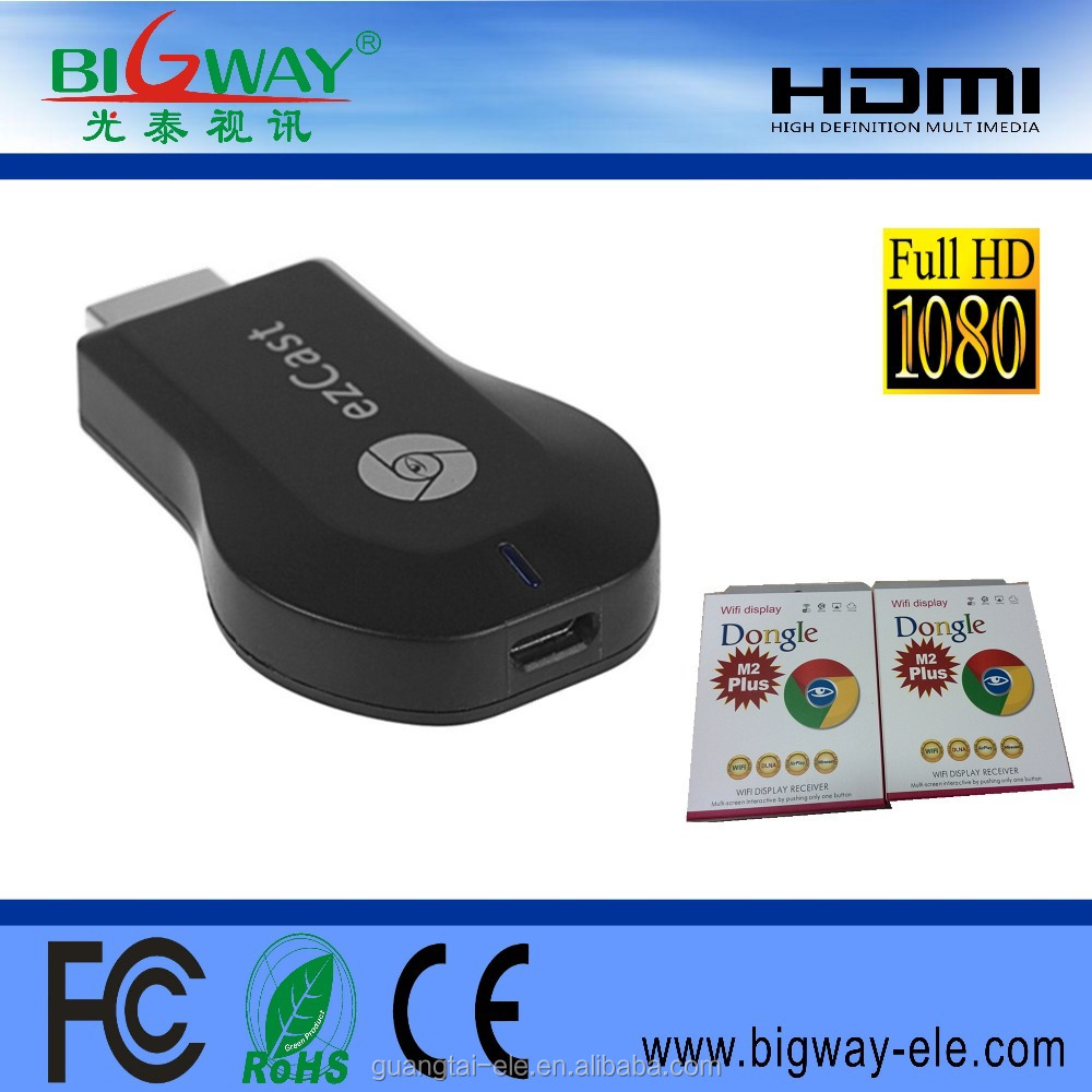 Anycast Miracast Mirascreen Tv Dongle Google M4 Plus Suppliers And Manufacturers At