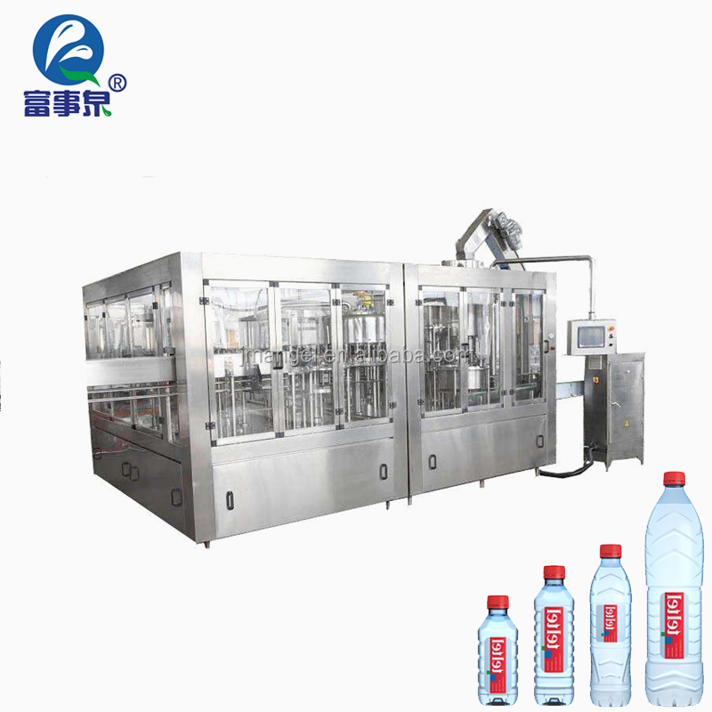 CE Certified automatic manufactured small carbonated water bottling plant