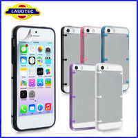 For New iPhone 5S Clear hard case cover, size confirmed 100% fit---LAUDTEC
