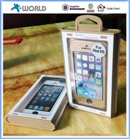 Gift packing rose gold stainless steel alloy phone case for iphone 5 5s