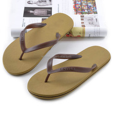 Cheap candy color rubber basic style men low price flip flop