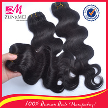 wholesale unprocessed indian remy hair body wave human hair