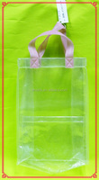 2014 factory hot sale EVA clear bag with handle