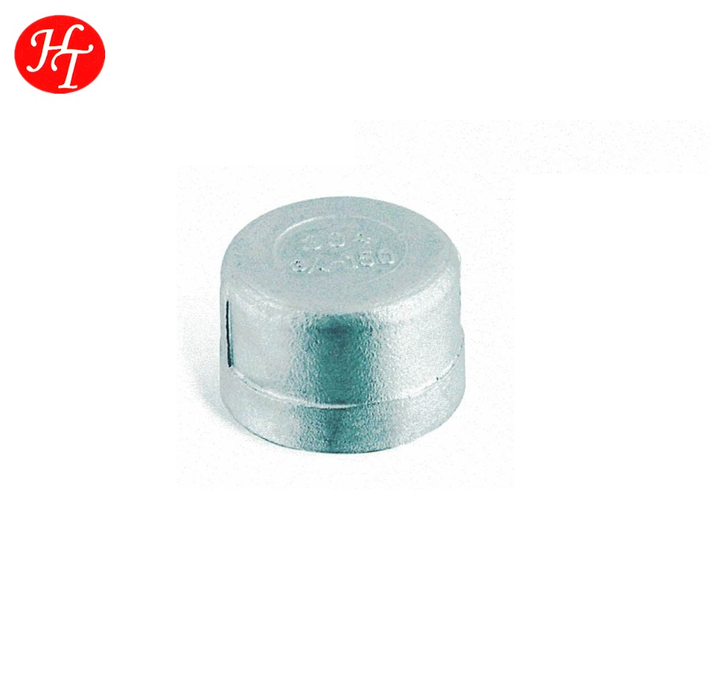 Stainless Steel Threaded Round Caps Pipe Fittings Online Shopping Made in China