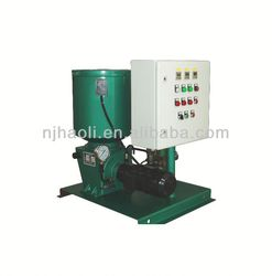 Dual line system for mining equipment magnetic separator