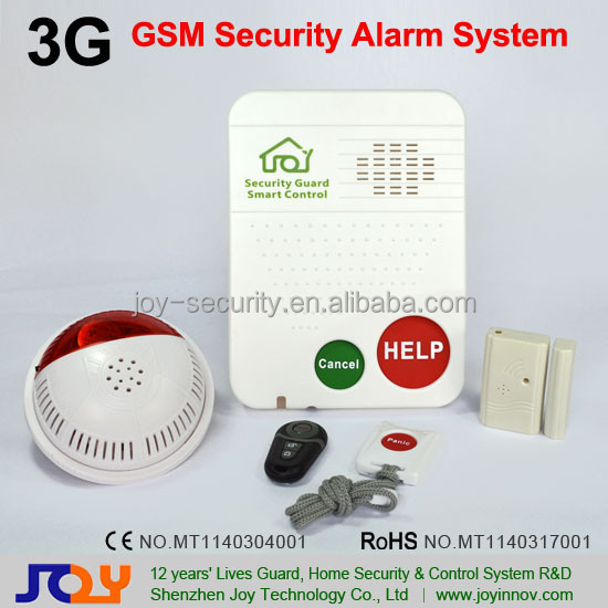 3G Security Wireless Smart Security Alarm System,SOS Life Alarm