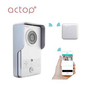 ACTOP HD camera 1mega Wifi Smart Door Bell with App Control