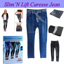Thane Slim Lift Caresse Jeans Skinny Jeggings Shapewear Che Dimagrisce Shaper Del Corpo-