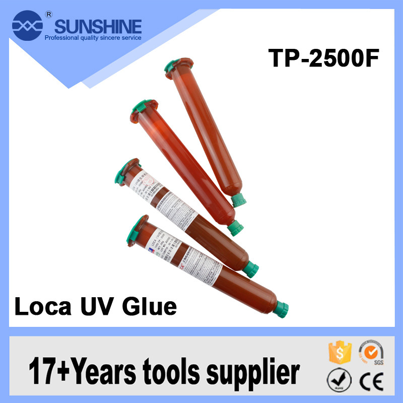 New TP-2500 LOCA UV glue liquid optical clear adhesive for samsung galaxy