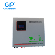 With mppt controller off grid solar power inverter 24v 1kw for solar system