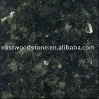 Emerald Pearl Green Granite Countertop and Island