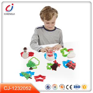 Intelligent wholesale novelty color dough toys kids clay play set