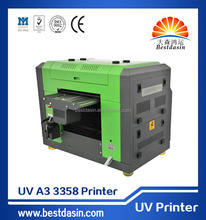 Digital A3 UV Flatbed Printer for Printing All Flat Objects