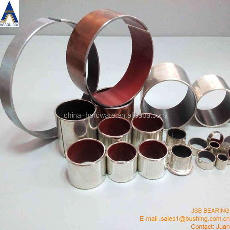 Made in Jiashan Oiless slide bushing ,DU DX bronze bush,SF-1 SF-2 PTFE(Teflon) bushing tin coating copper plating
