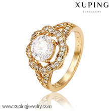 12957 Factory sale various 18k gold color boss ring