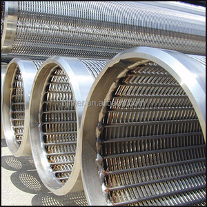 API STC 316L water well johnson screen pipe